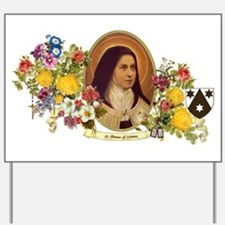 St. Therese of Lisieux Yard Sign