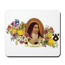 St. Therese of Lisieux Mousepad