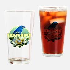 Idaho State Bird & Flower Drinking Glass