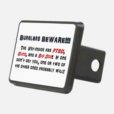 Burglars Beware!!! Hitch Cover