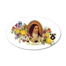 St. Therese of Lisieux Wall Decal
