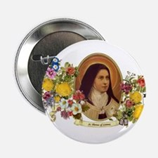 "St. Therese of Lisieux 2.25"" Button"