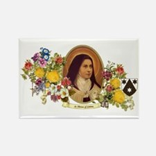 St. Therese of Lisieux Rectangle Magnet
