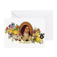 St. Therese of Lisieux Greeting Cards (Pk of 10)