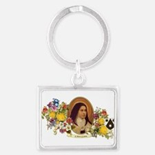 St. Therese of Lisieux Keychains