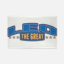 The Great Leo Rectangle Magnet