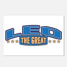 The Great Leo Postcards (Package of 8)