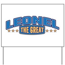 The Great Leonel Yard Sign