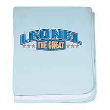 The Great Leonel baby blanket