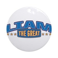 The Great Liam Ornament (Round)