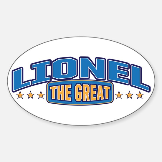 The Great Lionel Decal
