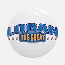 The Great Logan Ornament (Round)