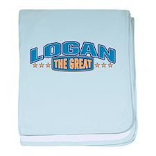 The Great Logan baby blanket
