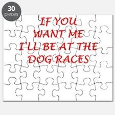 dog racing Puzzle