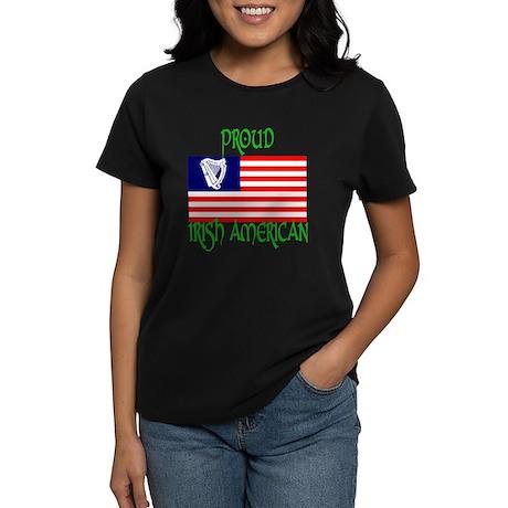 proud irish american Women's Dark T-Shirt