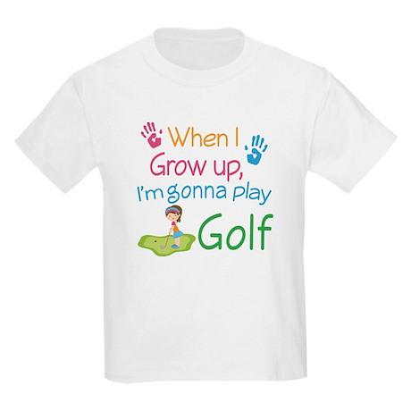 Future Golfer Kids Light T-Shirt