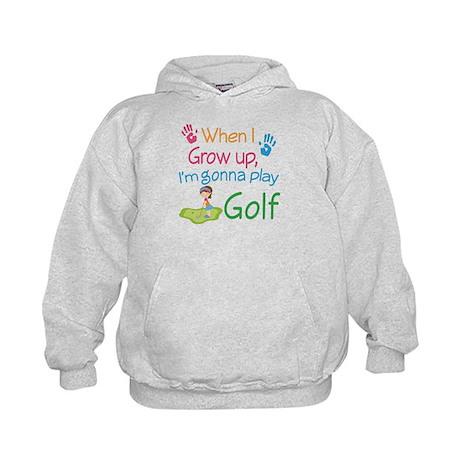 Future Golfer Kids Hoodie