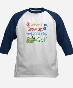 Future Golf Player Kids Baseball Jersey