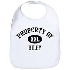 Property of Riley Bib