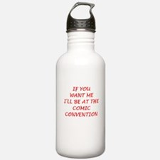comics Water Bottle