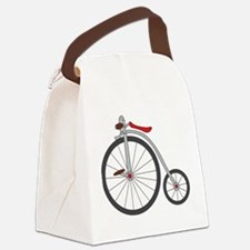 Vintage Bicycle Canvas Lunch Bag