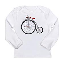 Vintage Bicycle Long Sleeve T-Shirt