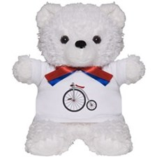 Vintage Bicycle Teddy Bear