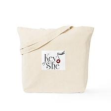 Key of She Kiss Tote Bag