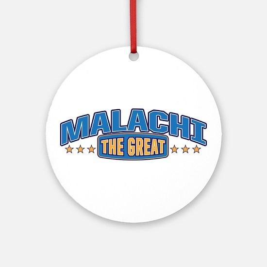 The Great Malachi Ornament (Round)