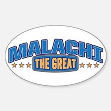 The Great Malachi Decal