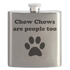 Chow Chows Are People Too Flask