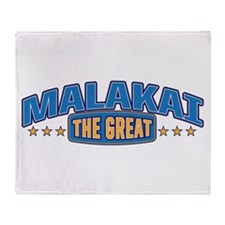The Great Malakai Throw Blanket