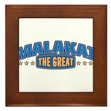 The Great Malakai Framed Tile