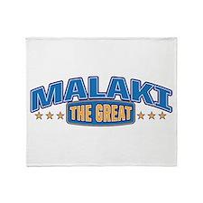 The Great Malaki Throw Blanket