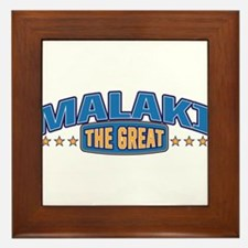 The Great Malaki Framed Tile