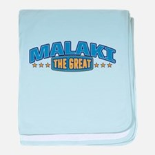 The Great Malaki baby blanket