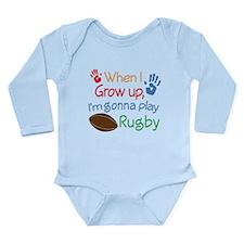 Future Hockey Player Long Sleeve Infant Bodysuit