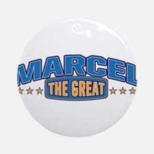 The Great Marcel Ornament (Round)