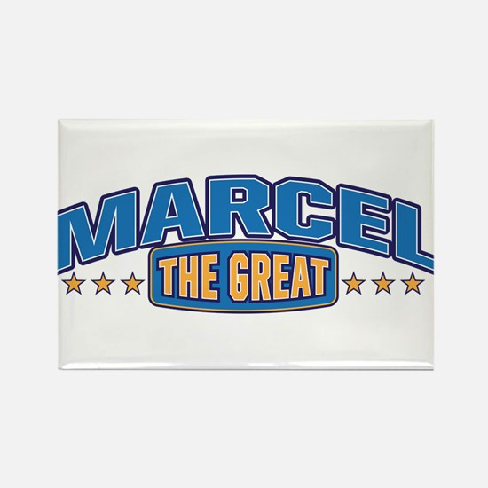 The Great Marcel Rectangle Magnet