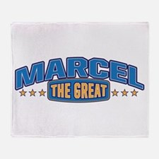 The Great Marcel Throw Blanket