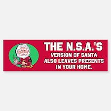 No Such Agency 2 Bumper Bumper Sticker