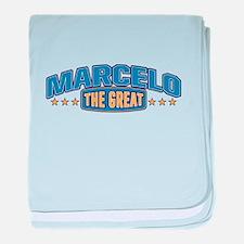 The Great Marcelo baby blanket