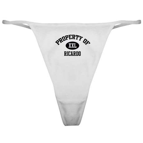 Property of Ricardo Classic Thong