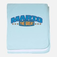 The Great Mario baby blanket