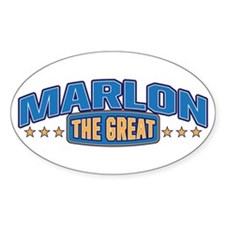 The Great Marlon Decal