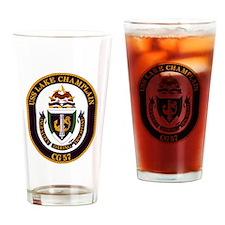 USS Lake Champlain (CG 57) Drinking Glass