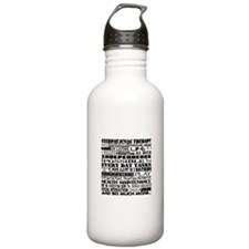 Flower power OT Water Bottle