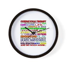 OT Words Wall Clock