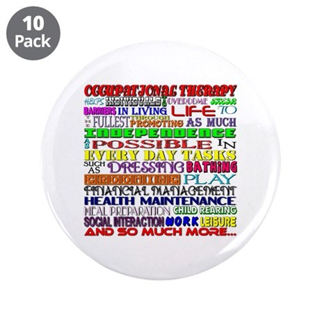 """OT Words 3.5"""" Button (10 pack)"""