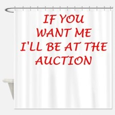 auction Shower Curtain